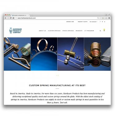 Hardware Products Co. Web Site
