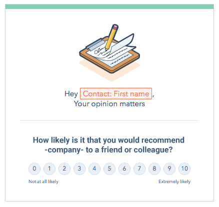 NPS Customer Service Survey