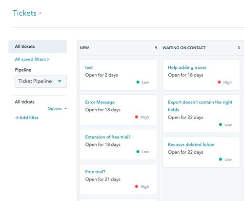 HubSpot Ticketing Software